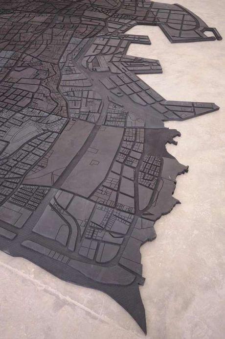 map art Marwan Rechmaoui_