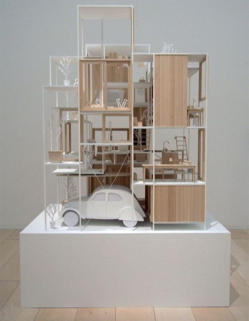 _ model for _House NA_ by the Sou Fujimoto group