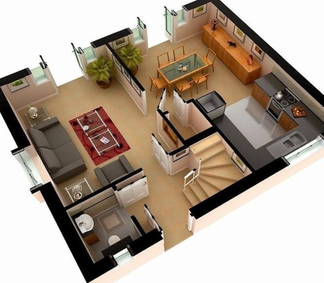 Amazing 3D Floor Plans For You
