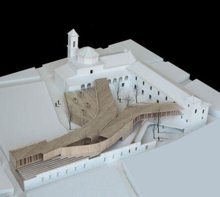 tapia_figueiras arquitectos_ CONCURSO HOSPEDERÍA FREGENAL DE LA SIERRA 2010 (mención)