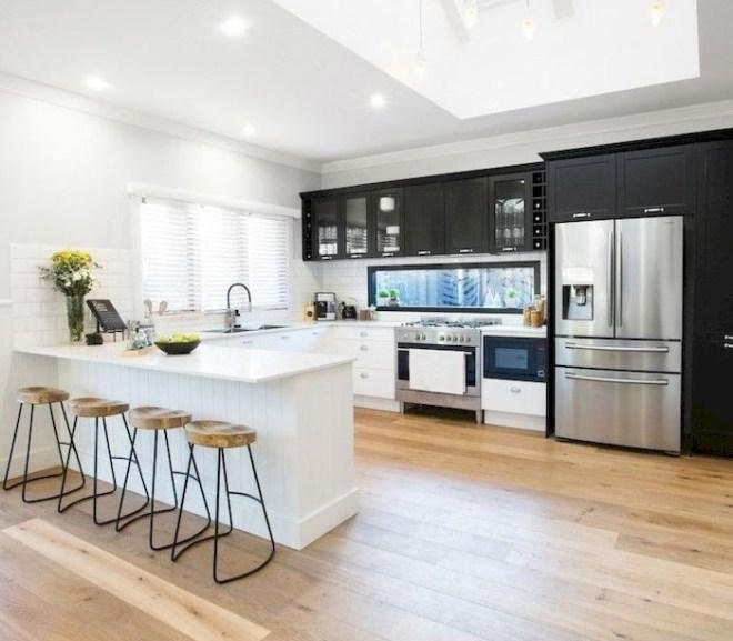 30+ Best Wood Floor Ideas to Beautify Your Kitchen Room