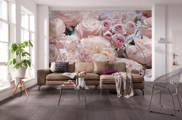Roses themed home decor ideas