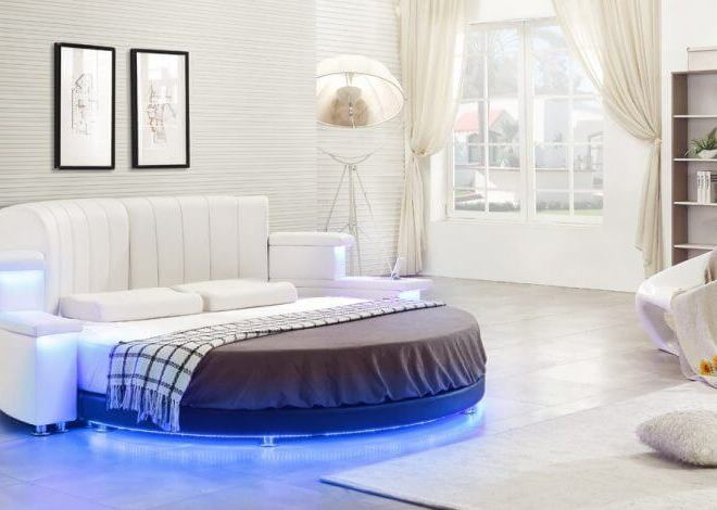 10 Exquisite Modern and Classic Round Beds for Your Sleep Space