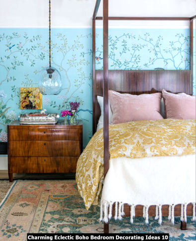 Charming-Eclectic-Boho-Bedroom-Decorating-Ideas-10