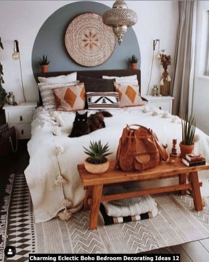 Charming-Eclectic-Boho-Bedroom-Decorating-Ideas-12
