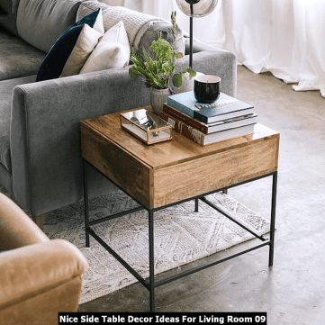 Nice-Side-Table-Decor-Ideas-For-Living-Room-09