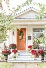 Fall-Front-Entrance-white-house-Autumn-Outdoor-Home-Tour-2018-birch-wood-mums-and-pumkins-
