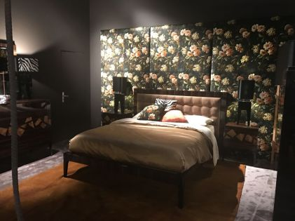 Bedroom-fabric-floral-pattern-behind-headboard