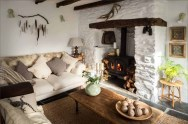 Charming-English-cottage-offers-a-fairytale-getaway-fireplace