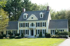 Double-wings-colonial-home