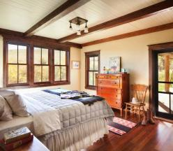 Inviting-rustic-ranch-house-bedroom