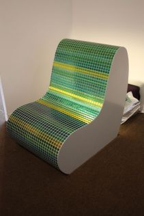 LED-lighted-outdoor-chair-Green-Grass