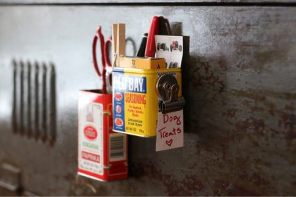 Magnetic-cans-into-kitchen-storage