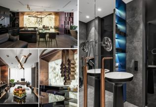 Modern-And-Masculine-Apartment-kitchen
