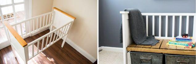 Repurposed-Crib-Turned-Kids-Bench