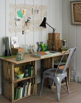 Shabby-Chic-Desk-made-from-Crates