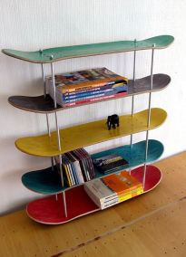 Skateboard-shelves