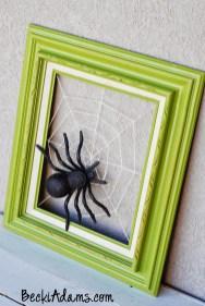 Spider-Green-Frame-for-Halloween