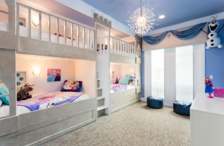 Teenage-princess-fairy-bedroom-with-bunk-beds