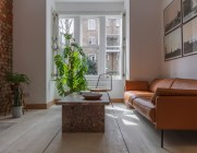 Uk-Victorian-house-extension-by-designed-by-Simon-Astridge-leather-couch