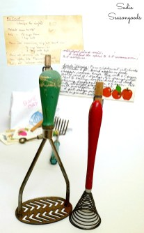 Vintage-Cooking-Clips-Recipe-Card-Holders