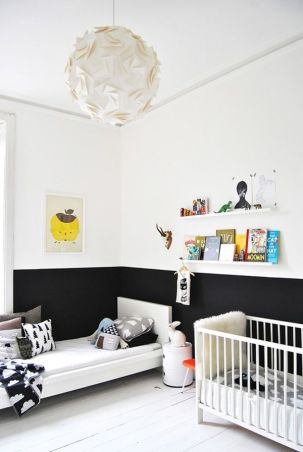 black-white-color-blocking-wall-paint