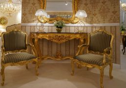 rococo-furniture-gold-armchairs-and-narrow-entryway-table-baroque-mirror