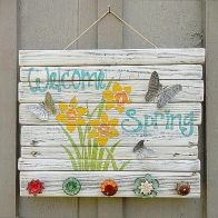 a-colorful-vintage-spring-sign-with-bold-blooms-and-letters-with-vintage-knobs-and-butterflies-is-cool