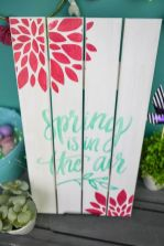a-painted-wooden-spring-sign-with-green-letters-and-red-blooms-is-easy-to-make-and-very-bright