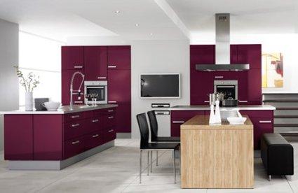 aubergine-kitchen