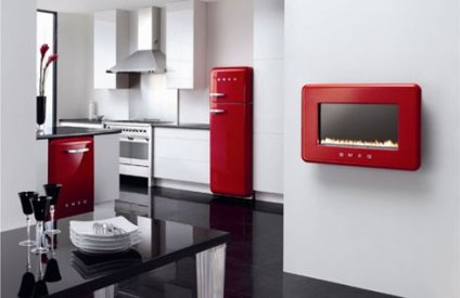 black-and-white-kitchen-with-red-accents