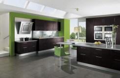 green-brown-kitchen-design