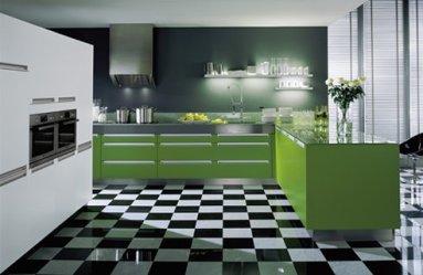 modern-green-kitchen