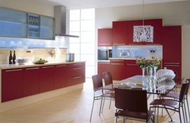 plain-kitchen-with-red-cabinets
