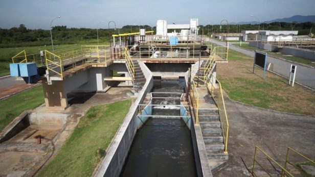 Screening process in a wastewater treatment system (YouTube.com)