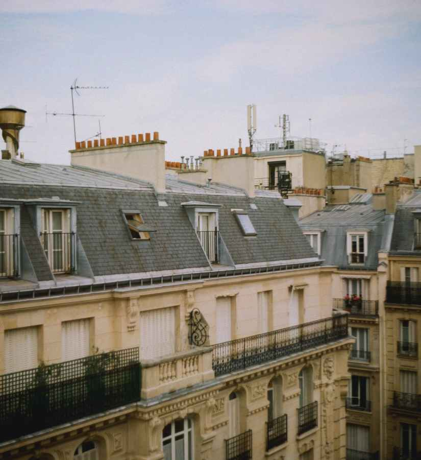 photo of buildings - roof maintenance