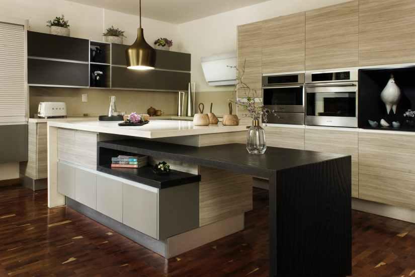 modern kitchen interior Modern Kitchen Countertops