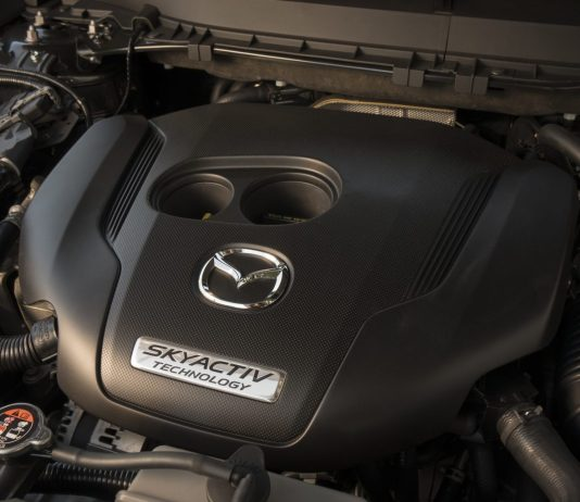 Skyactiv engine in Mazda CX-9 in
