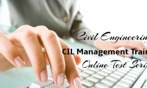 Civil Engineering CIL Management Trainee Online Test Series