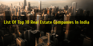 List Of Top 10 Real Estate Companies In India