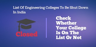 List Of Engineering Colleges To Be Shut Down In India - Check Whether Your College Is On The List Or Not
