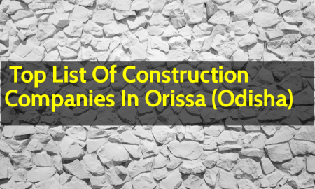 Top List Of Construction Companies In Orissa (Odisha)