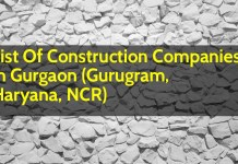 List Of Construction Companies In Gurgaon (Gurugram, Haryana, NCR)