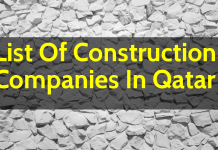 List Of Construction Companies In Qatar