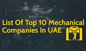 List Of Top 10 Mechanical Companies In UAE