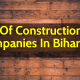 List Of Construction Companies In Bihar