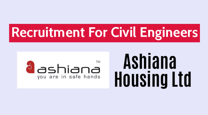 Ashiana Housing Ltd Recruitment For Civil Engineers 3 - 7 yrs Delhi