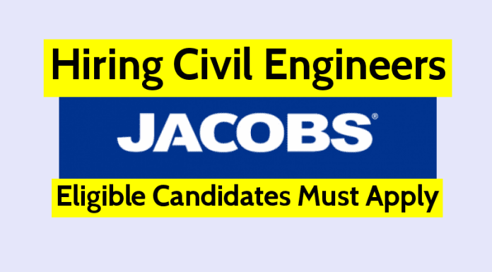 Jacobs Engineering India Pvt Ltd Hiring Civil Engineers Eligible Candidates Must Apply