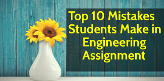 Top 10 Mistakes Students Make in Engineering Assignment