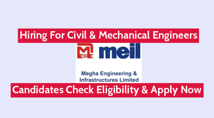 MEIL Hiring For Civil & Mechanical Engineers Candidates Check Eligibility & Apply Now